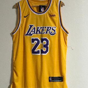 Lebron James Lakers Jersey #23 Nike Size Small